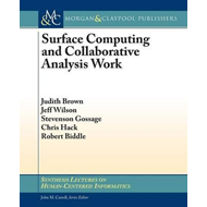 Surface Computing and Collaborative Analysis Work (BOK)