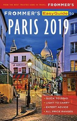 Frommer's EasyGuide to Paris 2019 (BOK)