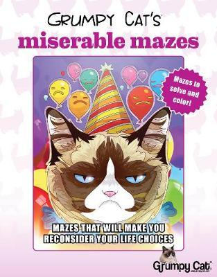 Grumpy Cat's Miserable Mazes (BOK)