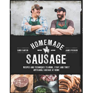 Produktbilde for Homemade Sausage - Recipes and Techniques to Grind, Stuff, and Twist Artisanal Sausage at Home (BOK)
