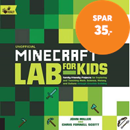 Produktbilde for Unofficial Minecraft Lab for Kids - Family-Friendly Projects for Exploring and Teaching Math, Scienc (BOK)