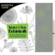 Scratch & Create: Scratch and Draw Botanicals (BOK)