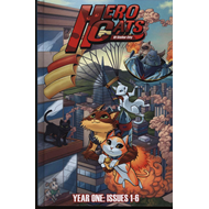Hero Cats of Stellar City: Year One Hardcover (BOK)