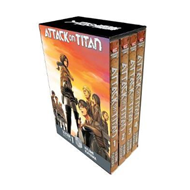 Attack On Titan Season 1 Part 1 Manga Box Set (BOK)