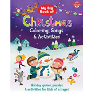 My Big Book of Christmas Coloring, Songs & Activities (BOK)