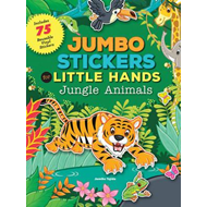 Jumbo Stickers for Little Hands: Jungle Animals (BOK)