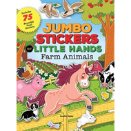 Jumbo Stickers for Little Hands: Farm Animals (BOK)