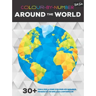 Colour-By-Number: Around the World (BOK)