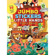 Jumbo Stickers for Little Hands: Funny Faces (BOK)