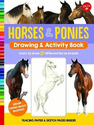 Horses & Ponies Drawing & Activity Book (BOK)