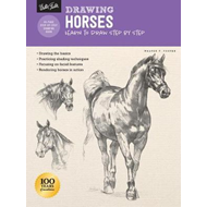 Produktbilde for Drawing: Horses - Learn to draw step by step (BOK)
