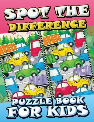 Spot the Difference Puzzle Book for Kids (BOK)
