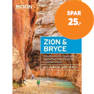 Produktbilde for Moon Zion & Bryce (Eighth Edition) - With Arches, Canyonlands, Capitol Reef, Grand Staircase-Escalan (BOK)