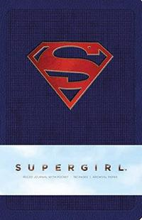 Supergirl hardcover Ruled Journal (BOK)