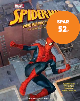 Marvel's Spider-Man: From Amazing to Spectacular - The Definitive Comic Art Collection (BOK)