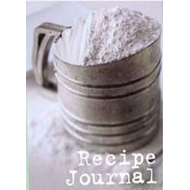 Large Recipe Journal  - Sifter (BOK)