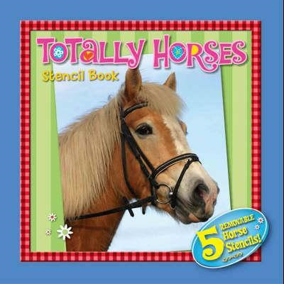 Totally Horses Stencil Book (BOK)