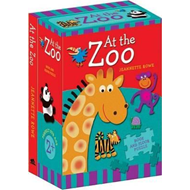 At The Zoo Book And Floor Puzzle (BOK)