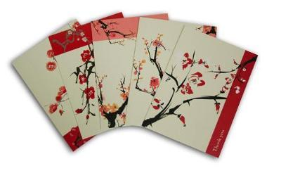 Japanese Thank You Cards: 20 Assorted Thank You Cards & Envelopes (BOK)