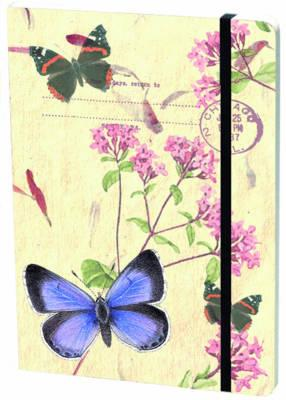 Large Elastic Journal Holly Blue With Fl (BOK)