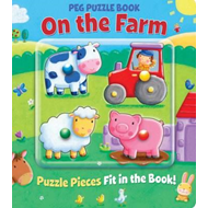 Peg Puzzle Book - On the Farm (BOK)