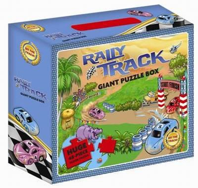 My Rally Car Giant Floor Puzzle (BOK)