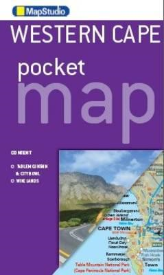 Western Cape Pocket Map (BOK)