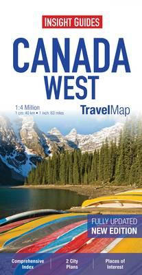 Insight Travel Maps: Canada West (BOK)