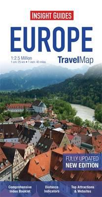 Insight Travel Map: Europe (BOK)