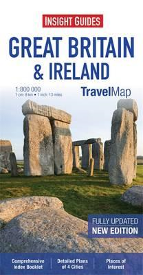 Insight Travel Map: Great Britain & Ireland (BOK)