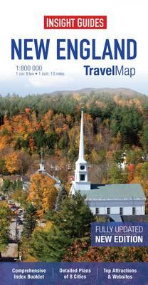 Insight Travel Map: New England (BOK)