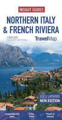 Insight Travel Map: Northern Italy & French Riviera (BOK)