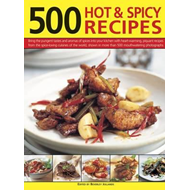 500 Hot & Spicy Recipes (BOK)