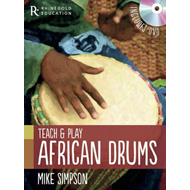 Produktbilde for Teach and Play African Drums (BOK)