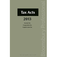 Tax Acts 2013 (BOK)