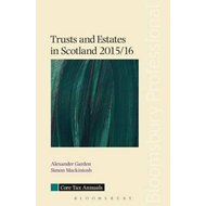 Trusts and Estates in Scotland 2015/16 (BOK)