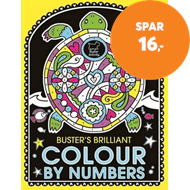 Produktbilde for Buster's Brilliant Colour By Numbers (BOK)
