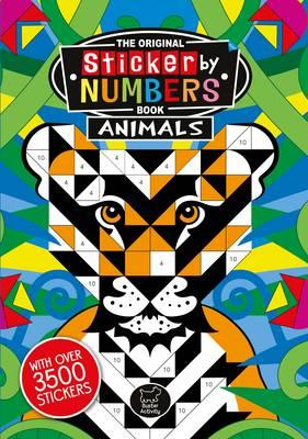 Sticker by Numbers Animals (BOK)