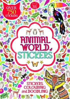 Animal World of Stickers (BOK)