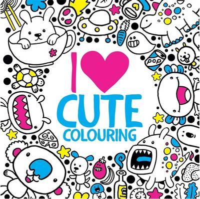 I Heart Cute Colouring (BOK)