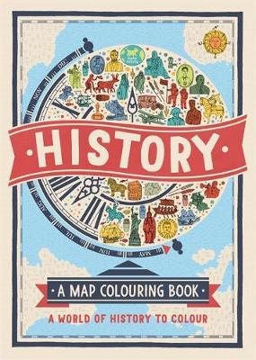 History: A Map Colouring Book (BOK)