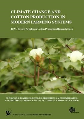 Climate Change and Cotton Production in Modern Farming S (BOK)