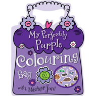 My Perfectly Purple Colouring Bag (BOK)
