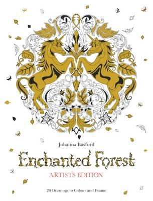 Enchanted Forest Artist's Edition: A Pull-Out and Frame Colo (BOK)