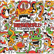 Produktbilde for Jon Burgerman's Burgerworld: A Colouring Book (BOK)