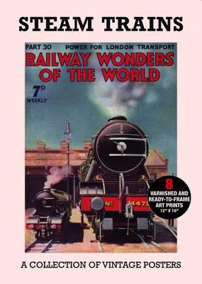 Poster Pack: Steam Trains (BOK)