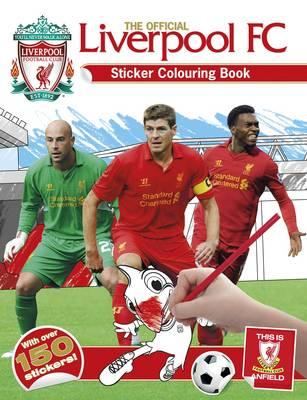 Official Liverpool FC Sticker Colouring Book (BOK)