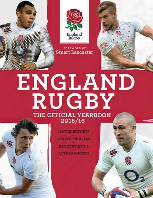 England Rugby: The Official Yearbook 2015/16 (BOK)
