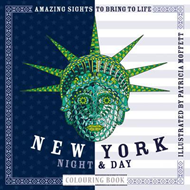 New York Night & Day Colouring Book (BOK)