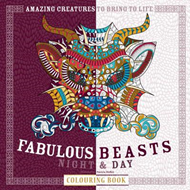Fabulous Beasts Night & Day Colouring Book (BOK)